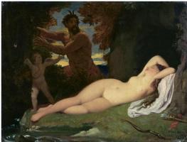 Jean Auguste Dominique Ingres. Jupiter and Antiope