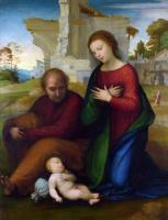 Фра Бартоломео. Дева с младенцем и Святой Иосиф