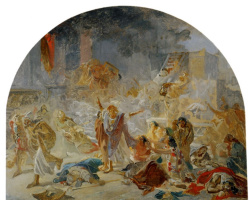 Николай Николаевич Ге. Разрушение Иерусалимского храма