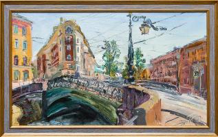 Fawn. Demidov bridge