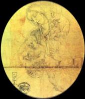 Маттиас Грюневальд. Мария с младенцем и Святым Иоанном