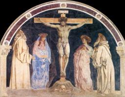 Андреа дель Кастаньо. Распятие на кресте