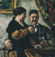 Петр Петрович Кончаловский. Автопортрет с женой