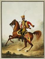 Александр Иванович Зауервейд. Штаб-офицер лейб-гвардии гусарского полка