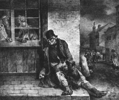 Théodore Géricault. The man in the street