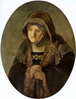 Рембрандт Ван Рейн. Портрет матери художника