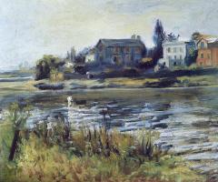 Pierre-Auguste Renoir. Sena in Chatou