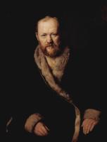 Василий Григорьевич Перов. Портрет драматурга А. Н. Островского