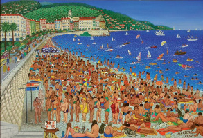 August in nice