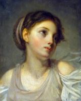 Жан-Батист Грёз. Девушка в сиреневой тунике