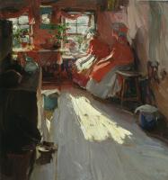 Абрам Ефимович Архипов. Весенний день. 1913
