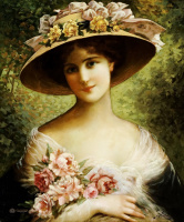 Emile Vernon. Original hat.