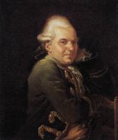 Jacques-Louis David. Portrait Of Francois Buron