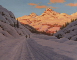 Cross-country skiing, Haute Savoie