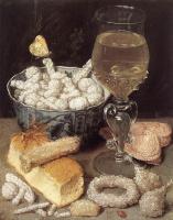 Георг Флегель. Натюрморт с хлебом