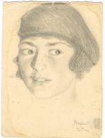 Unknown artist. Female portrait