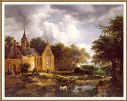 Якоб Исаакс ван Рейсдал. Лесной пейзаж
