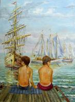 Андрей Доманин. ... а мальчишкам снились якоря