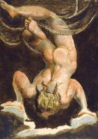 William Blake. The first book Urizen. Soaring Urizen