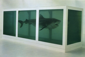 Damien Hirst. The physical impossibility of death in consciousness living