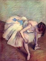 Edgar Degas. Dancer
