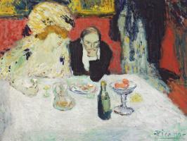 Pablo Picasso. Les Soupeurs