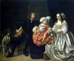 Бартоломеус ван дер Гельст. Семейный портрет