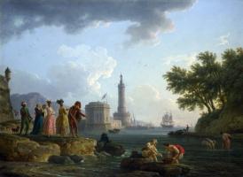 Клод Жозеф Верне. Морской берег