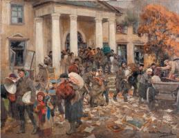 Иван Алексеевич Владимиров. Разгром помещичьей усадьбы