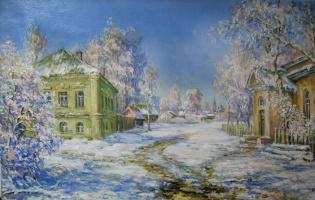 Виктор Владимирович Курьянов. Зима в старом городе