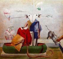 Макс Эрнст. Птицы, рыбы, змеи