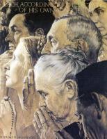 Норман Роквелл. Четыре свободы: Свобода вероисповедания