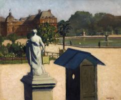 Альбер Марке. Люксембургский сад