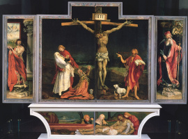 Sengeysky the altar. The crucifixion