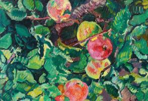 Луи Вальта. Ветвь яблони .1928