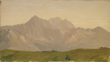 Frederic Leighton. Monte Croce