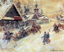 Константин Алексеевич Коровин. Праздничное гулянье