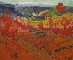 Морис де Вламинк. Осенний пейзаж