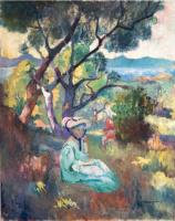 Henri Manguin. The garden Demie