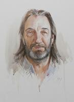 Sergey Alekseevich Makarov. Portrait Of Evgeny Borovik