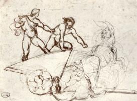 Théodore Géricault. Mars and Hercules
