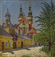 Николай Петрович Богданов-Бельский. Вид церкви