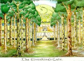 John Ronald Ruel Tolkien. The Elvenking's Gate