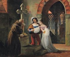 Франческо Айец. Брак Ромео и Джульетты