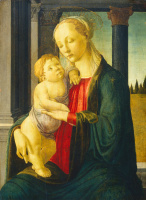 Sandro Botticelli. The Madonna and child