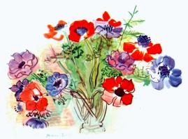 Рауль Дюфи. Букет цветов