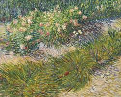 Vincent van Gogh. Coin de jardin avec papillons