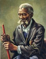 Томас Харт Бентон. Седой мужчина