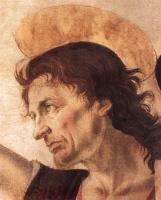 Андреа дель Верроккьо. Крещение Христа