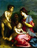Андреа дель Сарто. Святое Семейство с Иоанном Крестителем